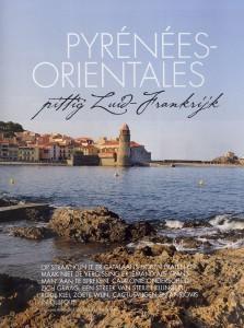 Artikel in het blad En France over de Pyrénées-Orientales